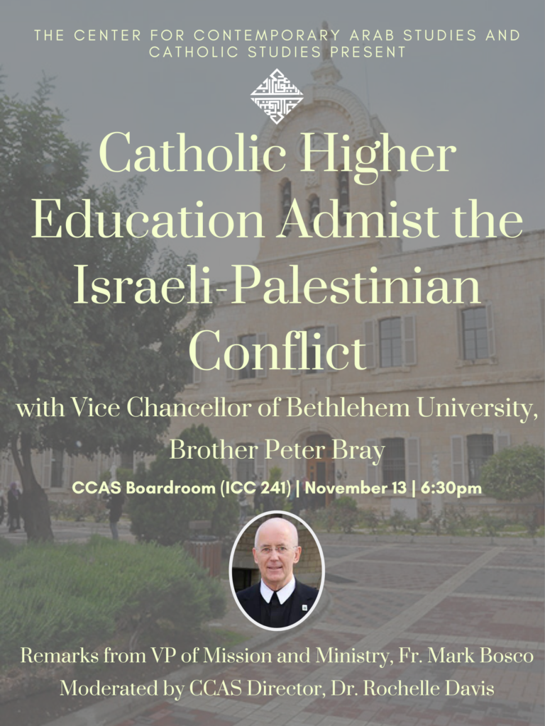 Flyer with a photograph of Brother Peter Bray. All of the flyer's details are written down next to the flyer image.